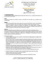 Manageur de commerce – Pré-en-Pail-Saint-Samson