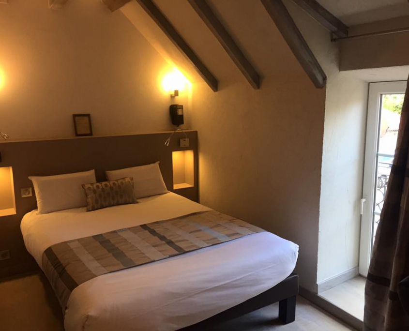 Chambre d'hôtel ©L'Oasis Villaines-la-Juhel