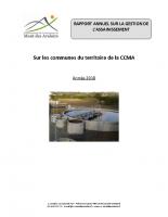 2018 – Rapport annuel sur la gestion de l'assainissement