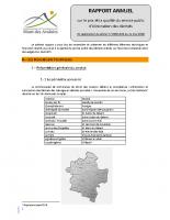 2018 – Rapport annuel sur le prix et la qualité du service public d'élimination des déchets