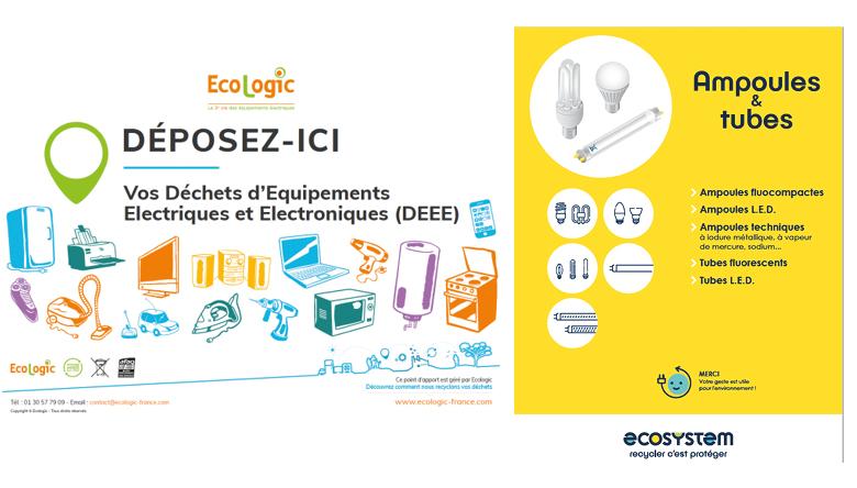 Déchets d'EquipementsElectriques et Electroniques - DEEE