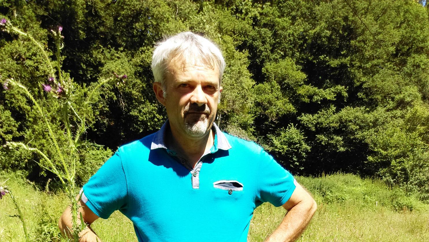 Laurent Bouteloup à la découverte du bocage à Averton
