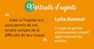 Lydia Boismal - CCMA