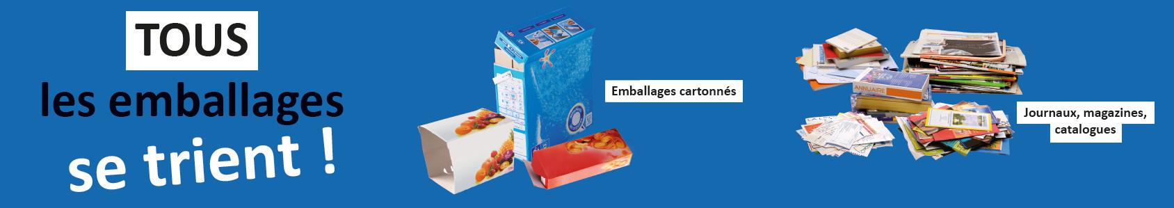 bandeau emballages papier