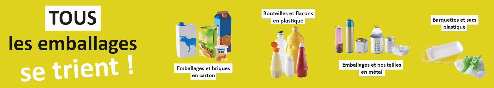 bandeau emballages plastiques
