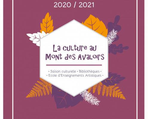 Plaquette service Culture CCMA 2020-2021