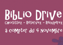 bibliodrive octobre 2020