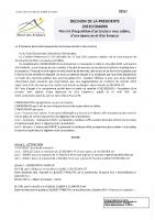 2021-05-Décision de la Présidente du 27 mai 2021